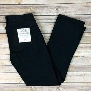 New J Crew Black Matchstick Skinny Leg Jeans